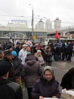 В центре Зеленограда прошел санкционированный митинг оппозиции
