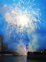 Праздник 8 мая на Михайловском пруду