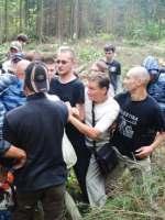 Массовая драка экологов и ЧОП Витязь в Менделеевском лесу