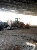В здании бывшего магазина «Александр-СМ» ведутся строительные работы