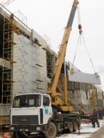 Строительство в Зеленограде торгового комплекса Панфиловский
