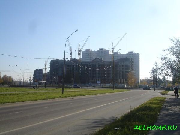 зеленоград фото - Строительство 20 микрорайона.